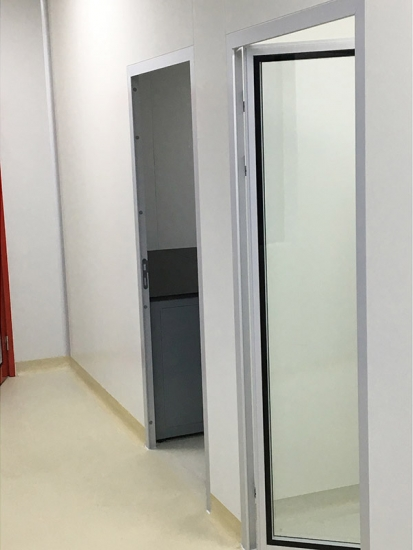 Customization clean room doors